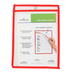 Renewing Minds, Dry-Erase Sleeve, Reusable, 9 x 12 Inches, Red Trim, 1 Each, Grades K-12