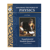 Memoria Press, Exploring the World of Physics Supplemental Student Book, Paperback, Grades 7-9