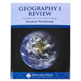 Memoria Press, Geography 1 Student Review Workbook, Grades 4-6