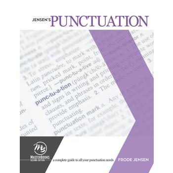 Master Books, Jensen's Punctuation Textbook, by Frode Jensen, Paperback, Grades 9-12