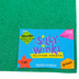 Silly Winks, Glitter Foam Sheet, Green, 12 x 18 Inches, 1 Each