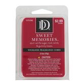D&D, Sweet Memories Scented Wax Melts, 6 Cubes, 2 1/2 ounces