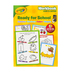 Retail Centric Marketing, Crayola Ready For School Workbook, Hardcover, 188 Pages, Pre-K