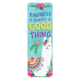 Renewing Minds, Llama, Kindness Is Always A Good Thing Bookmarks, 2 x 7 Inches, Pack of 36