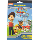 PAW Patrol Stickerland Pad, Shaped Stickers, Assorted Colors, 5.75 x 9.44 Inches, Pack of 295+