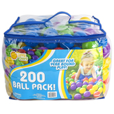 Sunny Days, 200 Ball Pack, 15 1/4 x 16 inches, Ages 12 Months & Older