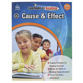 Carson-Dellosa, Cause and Effect Resource Book, Spotlight on Reading, Paperback, Grades 3-4