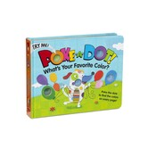 Whats Your Favorite Color, Poke-a-Dot Book, by Melissa & Doug, Board Book