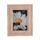 Green Tree Gallery, Rustic Peach Picture Frame, For 5 x 7 inch Photo, 8 3/4 x 10 inches