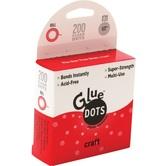 Glue Dots, Craft Glue Dots, 1/2 inches Each, Set of 200