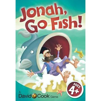 David C. Cook, Jonah Go Fish Jumbo Card Game, Ages 5 Years and Older