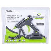 Surebonder, Cordless High Temperature Mini Hot Glue Gun, Black & Green