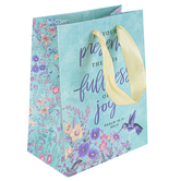 ThreeRoses, Psalm 16:11 In Your Presence Small Gift Bag, 8 1/2 x 6 1/2 x 4 inches