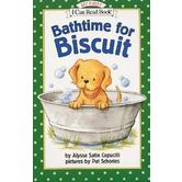 Bathtime for Biscuit, My First I Can Read Book, by Alyssa Satin Capucilli, Paperback