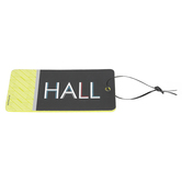 Isabella Collection, Hall Pass, 3 x 6 Inches, Lime, Black, and White, 1 Each