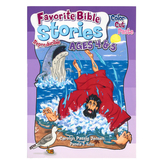 RoseKidz, Favorite Bible Stories Activity Book, Reproducible, Paperback, 96 Pages, Ages 4-5