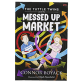 The Tuttle Twins and the Messed Up Market, Book 11, Paperback, 58 Pages, Grades K-6