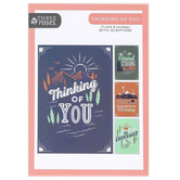 ThreeRoses, Mountain Art Thinking of You Cards, 12 Count