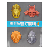 BJU Press, Heritage Studies 6 Student Text, Ancient Civilization, 4th Edition, Paperback, Grade 6