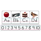 Manuscript Photo Alphabet (Zaner-Bloser) Bulletin Board