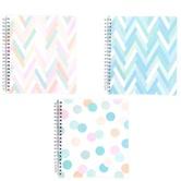 Carolina Pad, Summer Breeze 5-Subject Notebook, 150 Sheets, 8 1/2 x 11 inches