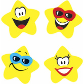 TREND enterprises Inc., Star Brights superShapes Stickers, Multi-Colored, Pack of 800