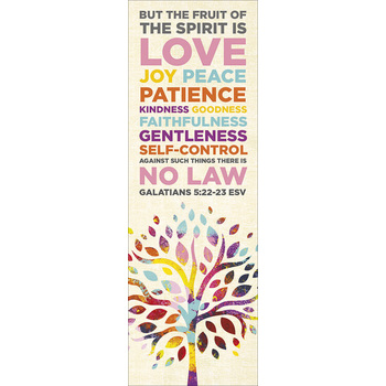 Salt & Light, The Fruit of the Spirit Bookmarks, 2 x 6 inches, 25 Bookmarks