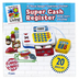 Small World Toys, Super Cash Register, 17 x 6 3/4 x 7 inches, 20 Piece Play Set