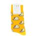 Two Left Feet Sock Co., Tacos, Men's Crew Socks, Yellow, 1 Pair
