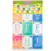 Teacher Created Resources, Watercolor You Are Capable of Doing Great...Bulletin Board Set, 29 Pieces
