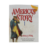 Master Books, America's Story Volume 1 Student Text, by Angela O'Dell, Paperback, Grades 3-6