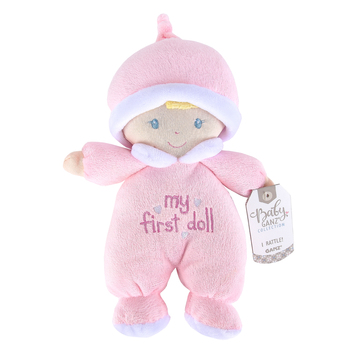 Ganz, My First Baby Doll Light Skin Girl, Polyester, Pink, 9 inches