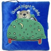 Good Night, Teddy, by Francesca Ferri, Fabric Book