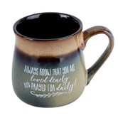 Dexsa, Always Know That You Are Loved Coffee Mug, Ceramic Stoneware, 16 ounces