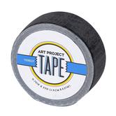 Black Mini Art Project Tape, 3/4 inches x 5 yards, 1 Roll