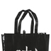 NOTW, Reusable Tote Bag, Black & White, 15 x 14 Inches