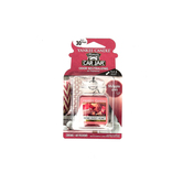 Yankee Candle, Car Jar Air Freshener, Home Sweet Home, Red