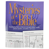 Product Concept Manufacturing, Mysteries of the Bible Activity Book, 9 x 11 Inches, 48 Pages