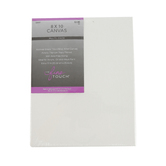 The Fine Touch, Stretched Artist Canvas, 8 x 10 inches, White, 2 count