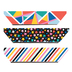Colorfetti Collection, Magnetic Bookmarks, .75 x 2 Inches, Multi-Colored, Pack of 6