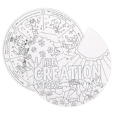 Playside Creations, Color Me I Can Pray Wheel, 9 Inches