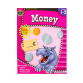 Ready-Set-Learn Activity Book: Money, 64 Pages, Grades 1-2