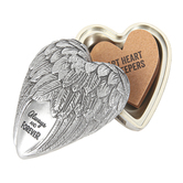 Demdaco, Always and Forever Art Heart Keeper, 3 x 3 1/2 inches