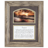 Carson Home Accents, Footprints Framed Prayer, PVC, 12 x 10 inches
