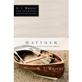 Matthew, N. T. Wright For Everyone Bible Study Series, by N. T. Wright, Paperback