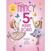 Fancy Nancy: 5-Minute Fancy Nancy Stories, by Jane O'Connor & Robin Preiss Glasser, Hardcover