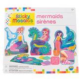 The Orb Factory, Sticky Mosaic Activity Kit, Mermaid Assortment, 2072 Pieces, Grades K-6