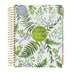 DaySpring, Botanical Dream 18-Month 2021 Agenda Planner, White and Green, 9 x 7 Inches