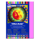 Tru-Ray® Sulphite Construction Paper, 9 x 12 inches, Shocking Pink, 50 Sheets