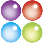 TREND enterprises Inc., Rainbow Gel Super Spots Stickers, Multi-Colored, Pack of 800